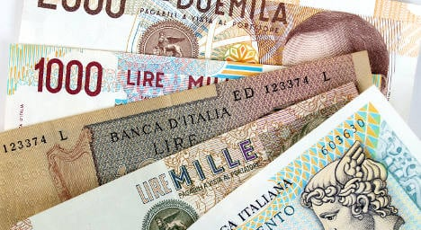 Couple sue Bank of Italy over 'worthless' 40m lire