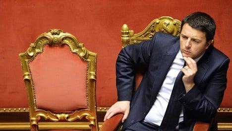 Renzi slammed for 'coup' over Senate changes