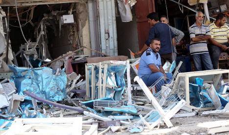 Baghdad suicide bomber 'was German'