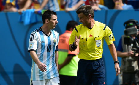 Italian Rizzoli to referee World Cup final