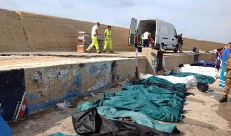 Police hunt Lampedusa suspect in Sweden