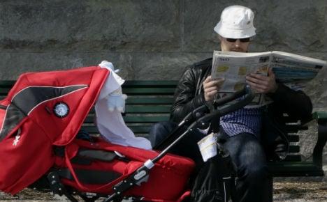 Swedes risk infants' lives by covering up prams