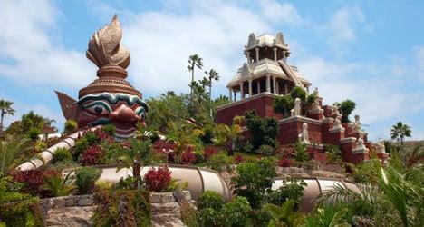 Tenerife water park named world's best