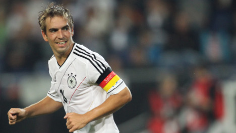 Lahm goes out on top of his game