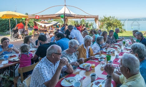 Farms opt out of Swiss National Day brunch