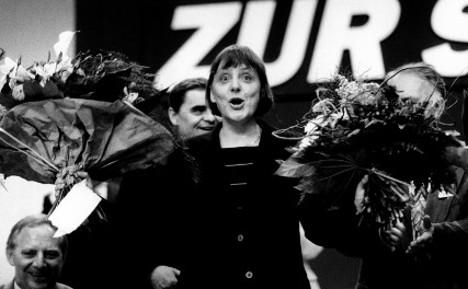 Merkel's 60th birthday celebrated with 60 photos