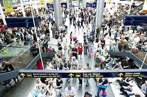 Copenhagen Airport has its busiest month ever