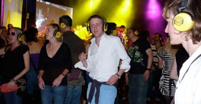 Silent disco 'too loud' for Salzburg
