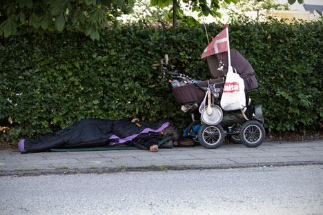 Denmark's homeless should go to Sweden: MP
