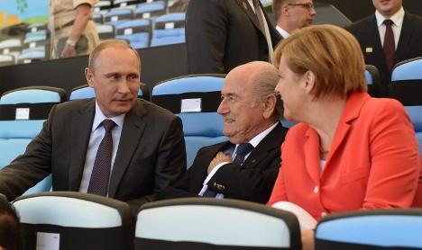 Merkel to push for 'swift' EU Russia sanctions