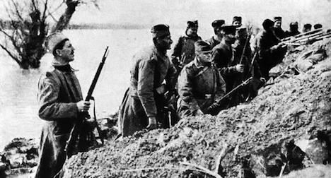 100 years since Austria declared war on Serbia