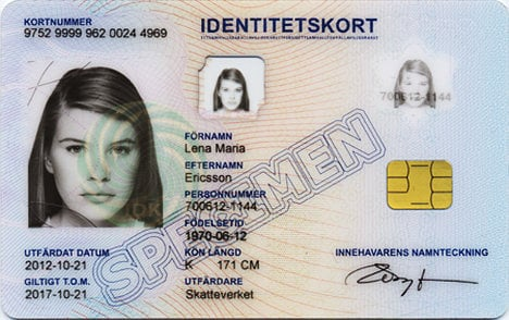 Introducing… ID cards and permits in Stockholm