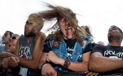 Motorhead fan's brain bled after headbanging