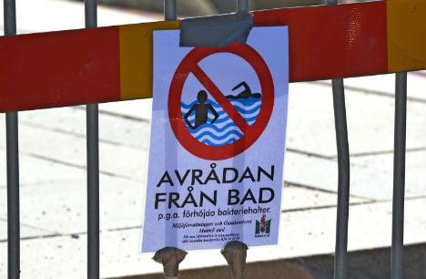Swedes soak up sun as beaches ban bathing