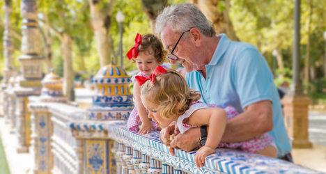 Child minding chores make grandparents sick