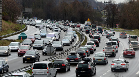 France set for weekend of traffic chaos on roads