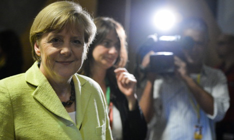 Songs and advice for Merkel on 60th birthday