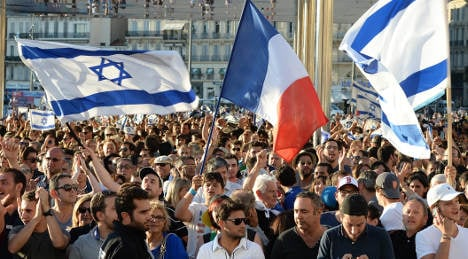 Marseille: Pro-Israel march held amid tension