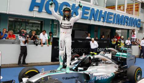 Rosberg wins German Grand Prix