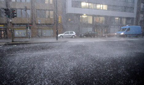 Weather warning for stormy Berlin