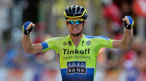 Tour de France stage 16: Australian Rogers wins