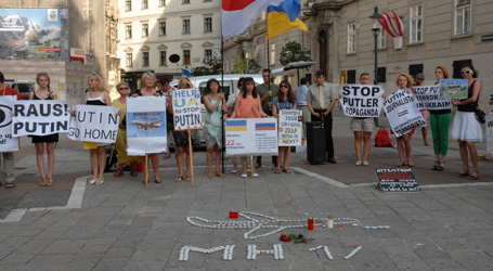 Ukrainian community mourns MH17 victims