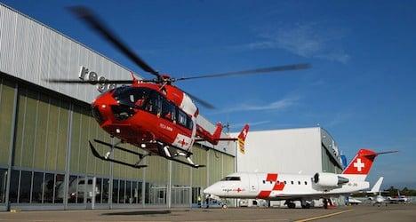 Swiss heli-firm denies role in Schumacher leak