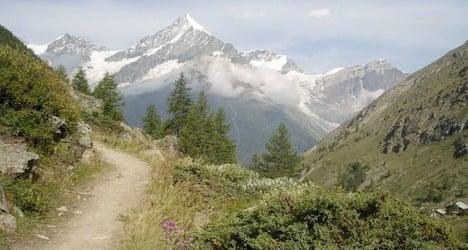 US man plunges to death hiking near Zermatt