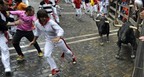 Pamplona 'survival guide' author gored by bull