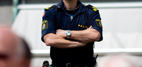 Swedish police: 'We're sweaty all the time'
