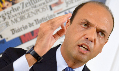 Italy's centre-right leader open to gay unions