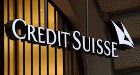 Tax evasion fine soaks Credit Suisse in red ink