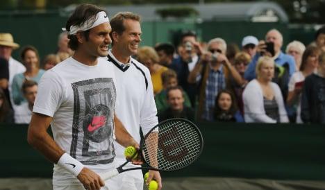 Edberg renews Becker Wimbledon rivalry