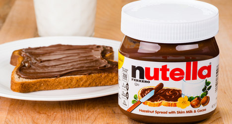 French may have to shell out more for Nutella