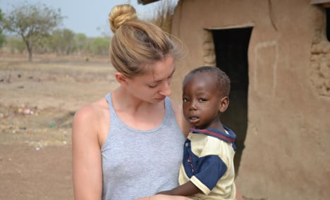 Swede launches charity to help kids in Ghana