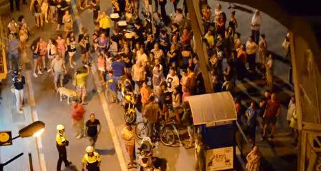 Barcelona locals wage war on drunken tourists