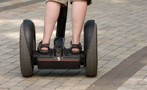 Norway's first drunk on a Segway charged