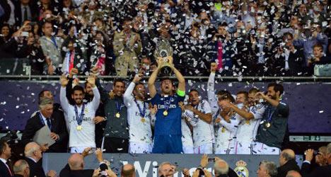 Ronaldo reigns supreme as Madrid win Super Cup