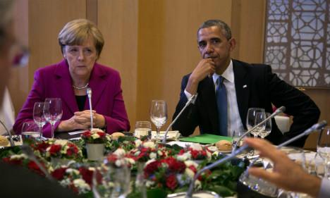 Merkel & Obama fire warning to Russia