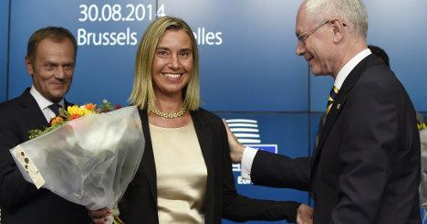 Italy scores EU win as Mogherini gets top job
