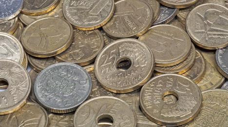 Spaniards still have €1.67 billion in old pesetas
