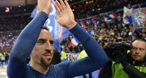 Franck Ribéry quits French national team