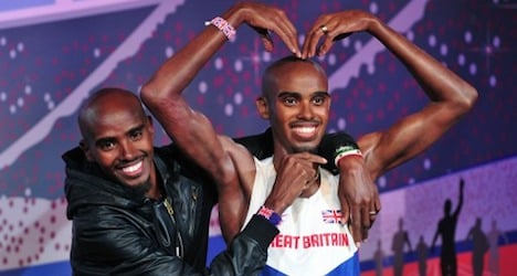 Farah ready to compete in Zurich after fall