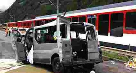 Two Israeli policemen identified in train crash