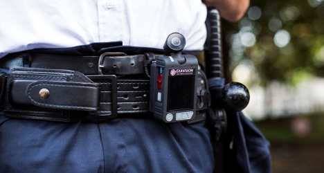 French police to start wearing body cameras