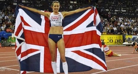 British runner Pavey makes history in Zurich
