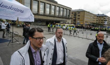 Sweden Dems in Oslo hunt for migrant vote