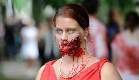 Stockholm braces for zombie invasion