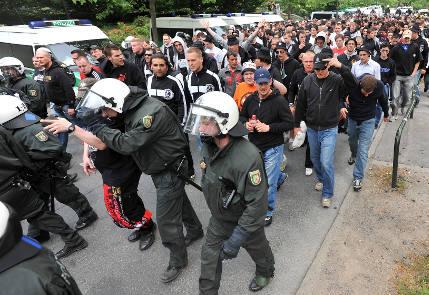 Police mood darkens over soccer fan duties