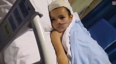 French police in race to find sick British boy